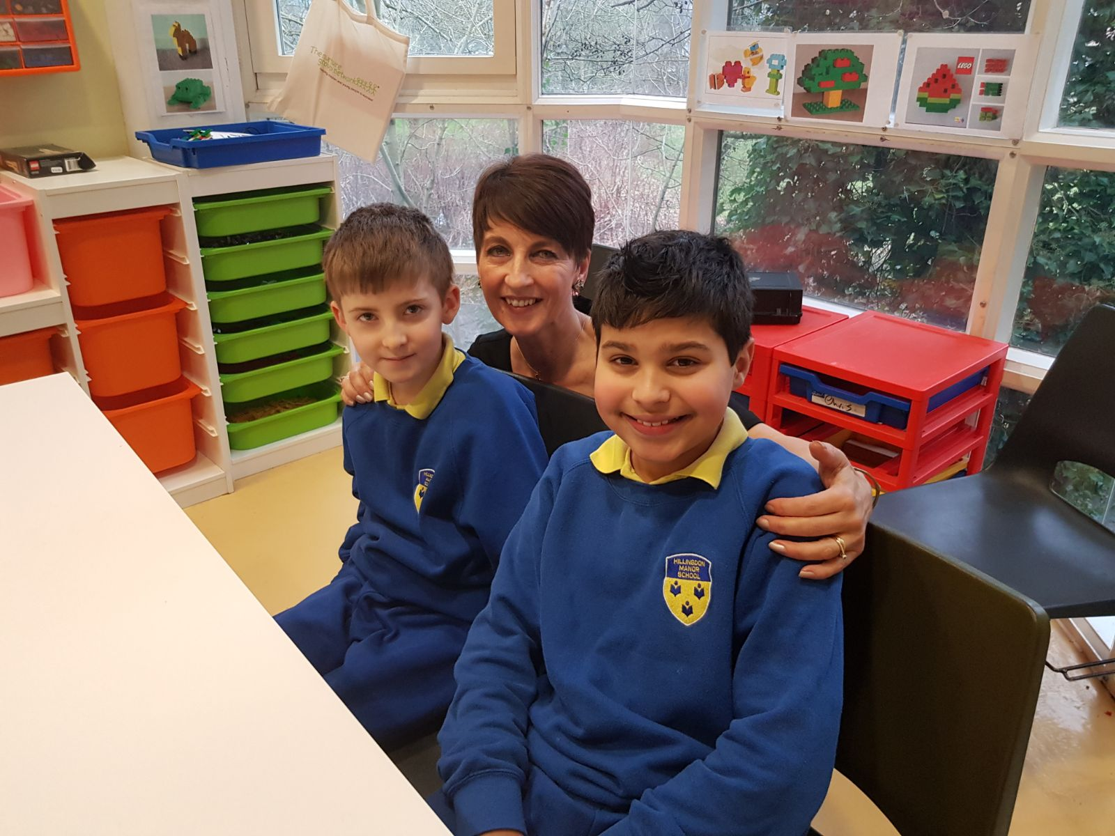 Staff And Students From Hillingdon Manor School Are Featured On The Chrissy B Show